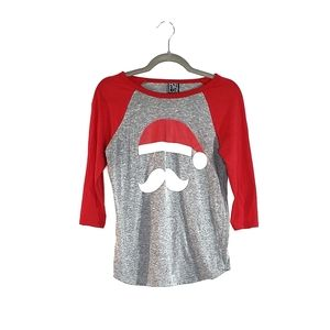 Modern Lux Santa Clause Graphic Shirt